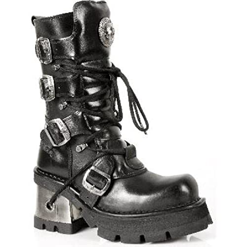 New Rock Boots Womens Style 373 S3 Black