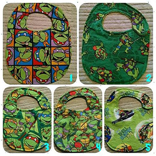 TMNT Bib or Burp Cloth