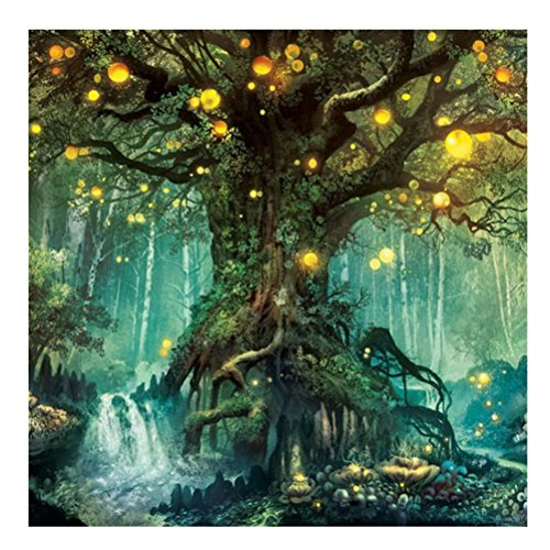 5D Tree DIY Diamond Painting Embroidery Cross Craft Stitch Animal Home Decor Art Wall Sticker for Walls HOT Sale ! ❤️ ZYEE (Multicolor (3030cm))