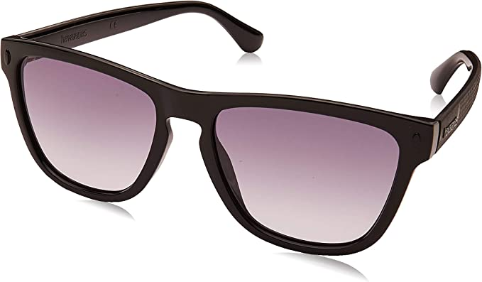 55 Unisex-Adult BLACK HAVAIANAS ITACARE Sunglasses