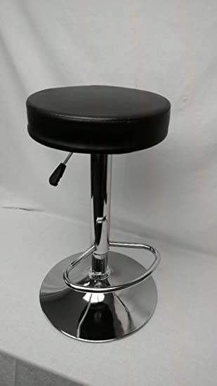Enjoyable Retroarcade Us Ra Stool Upright Arcade Stool Adjustable Chair Seat For Upright Style Arcade Games Like Pacman Black Creativecarmelina Interior Chair Design Creativecarmelinacom