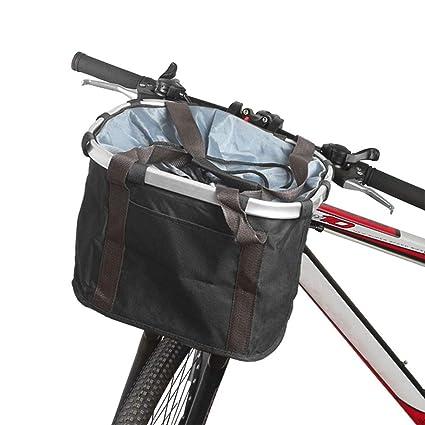 Cesta Plegable para Bicicleta - Portador De Perros Plegable ...