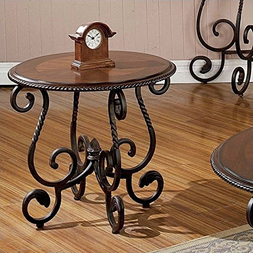 Tuscan Kitchen Furniture (Steve Silver Company Crowley End Table)