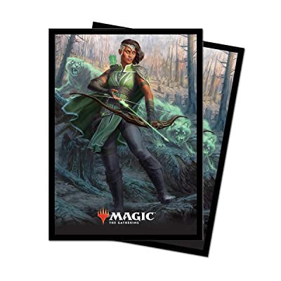 "Ultra Pro Magic: The Gathering Core Set 2020 ""Vivien Reid Deck Protector Sleeves (80 Count): Toys & Games"