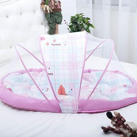 Pure Besi bebé mosquitera – Bare Dormir Matte Cuna Baby Sleep Supplies Three de Verano Piece