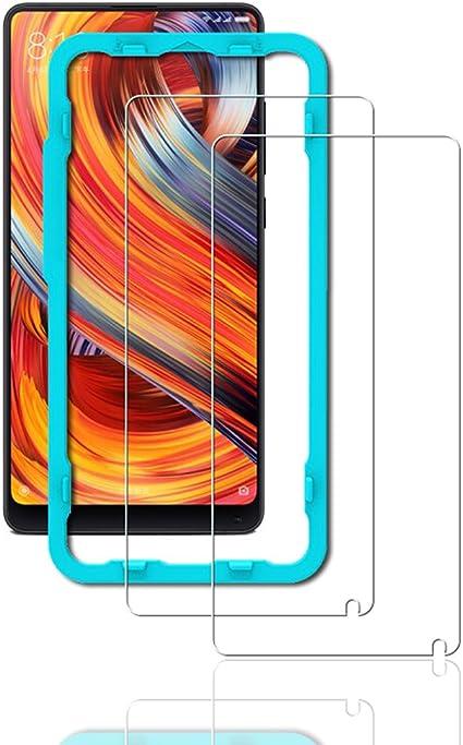 Flos Protector Pantalla Xiaomi Mi Mix 2 [2 Piezas] [Fácil de ...