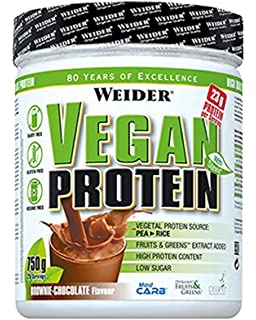 Weider Vegan Protein - 750 gr Brownie-Chocolate
