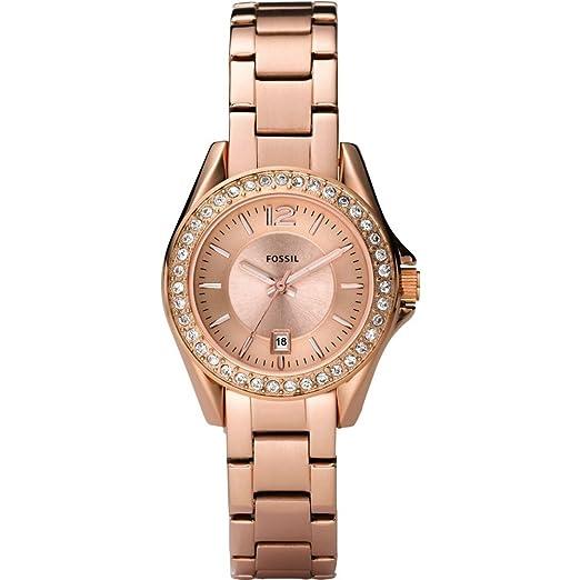 fe28ec560367 Fossil ES2889 - Reloj analógico de cuarzo para mujer con correa de acero  inoxidable