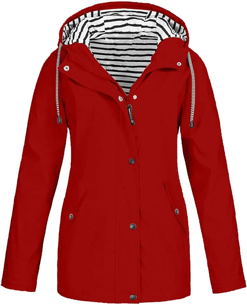 FRAUIT regenjas dames winterjas winter jas Plus Size outdoor