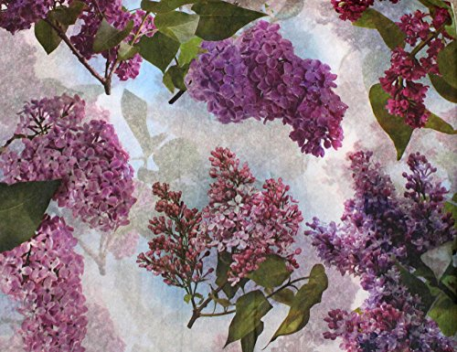 Inspiration for A Project Ornament Lilacs Floral Tissue Paper ~ Flowers # 337~10 Large Sheets DIY Rustic Primitive Decor Ideas from Decorative primitive & rustic crafting supplies