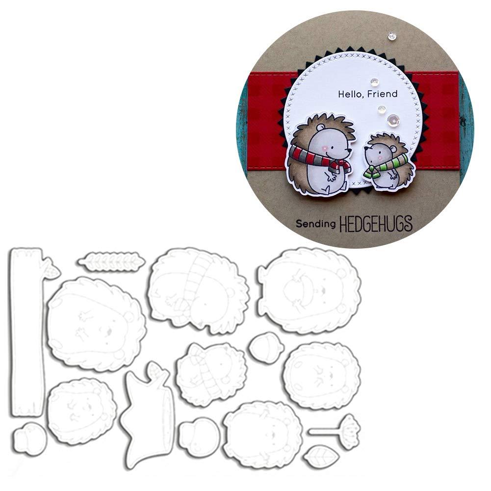 Papel fotogr/áfico Tarjetas definen DIY Fabricaci/ón Regalo de cumplea/ños artesan/ía /Troqueles Plantillas para Scrapbooking /Troquel Scrapbooking Relieve lonen/ spirworc hlan Perforadora/