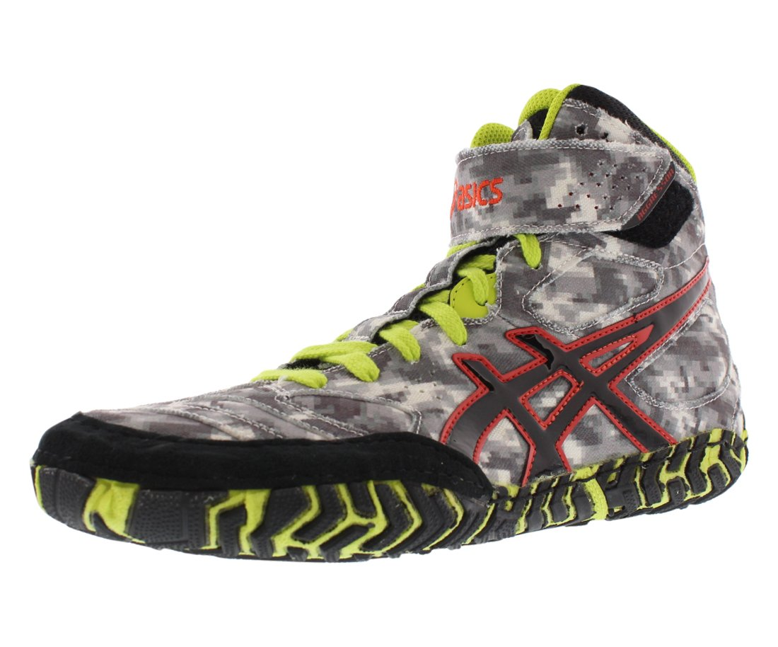 Asics Aggressor 2 LE Mens Wrestling Shoe 8 Digital Camouflage