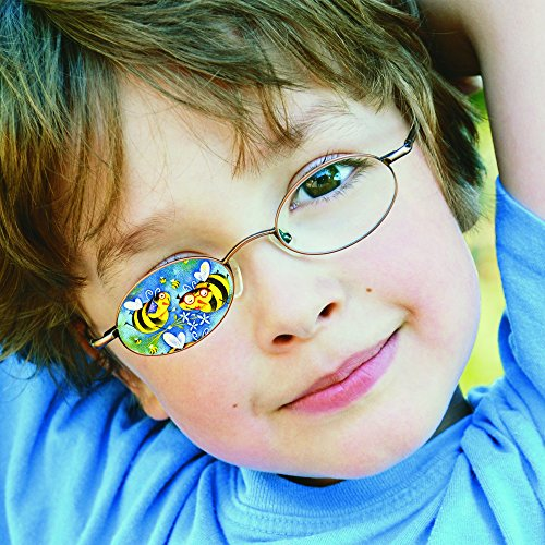 DR Patch Reusable Eye Patches for Boys and Girls. Non Adh...