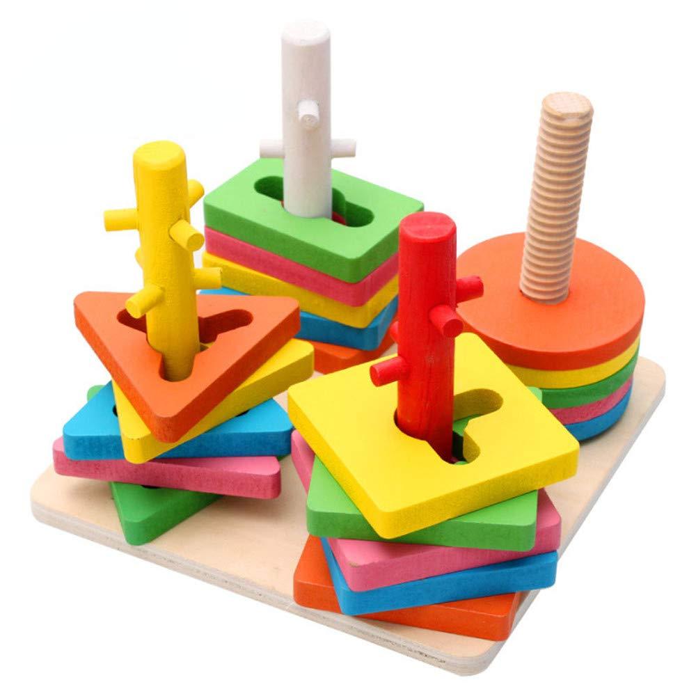 最新情報 Zxcvlina 男の子と女の子用 B07L4BYFZY ランロジックゲームとおもちゃ Zxcvlina 4列の形状 4列の形状 組み立てインテリジェンスパズル/おもちゃ 木製ボール 4列のスーツ ビルディングブロック 赤ちゃんのスキルを育むのに役立ちます。 B07L4BYFZY, フーラストア:d3799f8e --- a0267596.xsph.ru