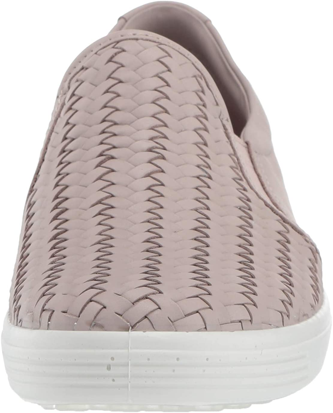 ECCO Soft7w, Slip-on Sneaker Donna Rosa Grigia