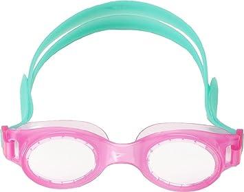 451d12bff1b Speedo niños Boomerang JR gafas de natación, Rosa, turquesa: Amazon.es:  Deportes y aire libre