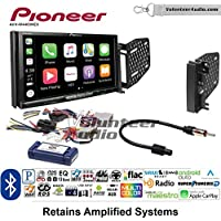 Volunteer Audio Pioneer AVH-W4400NEX Double Din Radio Install Kit with Wireless Apple CarPlay, Android Auto, Bluetooth Fits 2009-2010 Ram 2011-2014 Chrysler 200