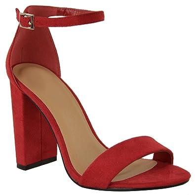 28bc2142c82a6 Fashion Thirsty Heelberry - Damen Sandaletten - hoher Blockabsatz ...