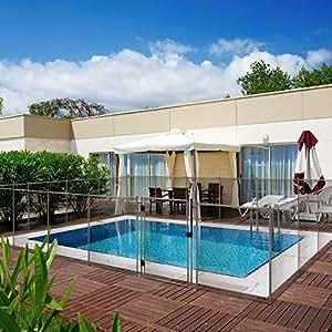 Valla de seguridad para piscina tramo 2 metros malla - Valla seguridad piscina ...