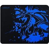 excovip Tapete de mouse de juego con diseño de dragón azul calmante con control de velocidad