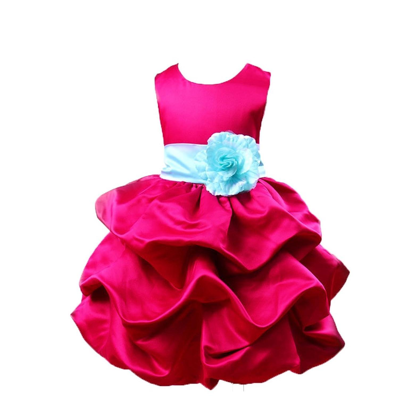 0ec6c4fd044802 OHmais Enfant Fille Princesse Robe tutu en dentelle Robe de Mariage ...