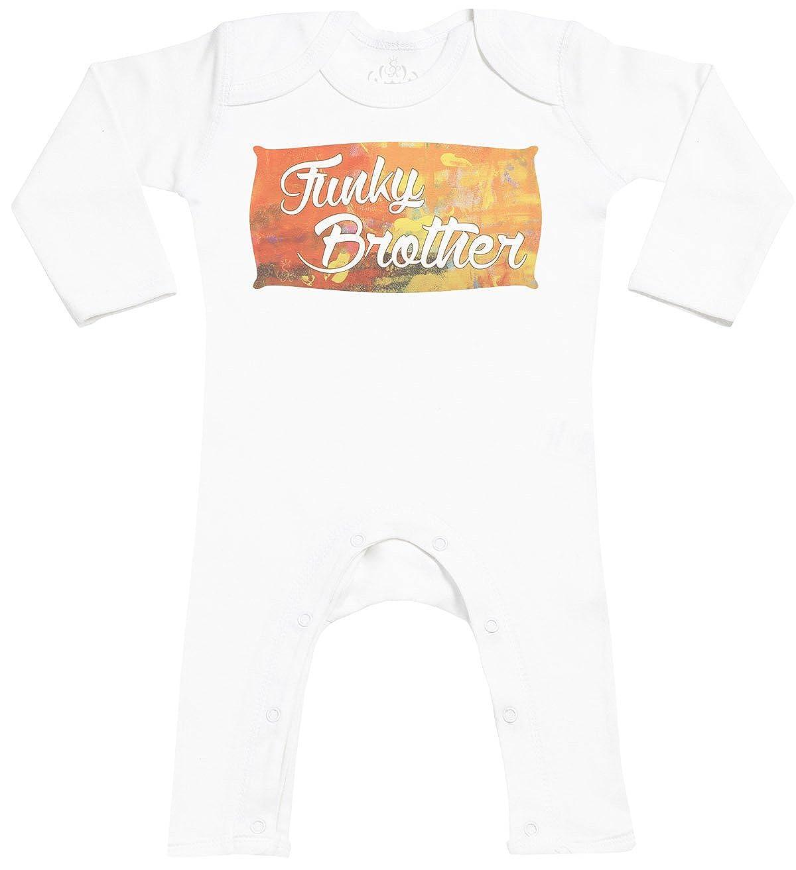 Baby Sleepsuit Baby Jumpsuit Baby Rompersuit SR Funky Brother Baby Footless Romper Baby Romper
