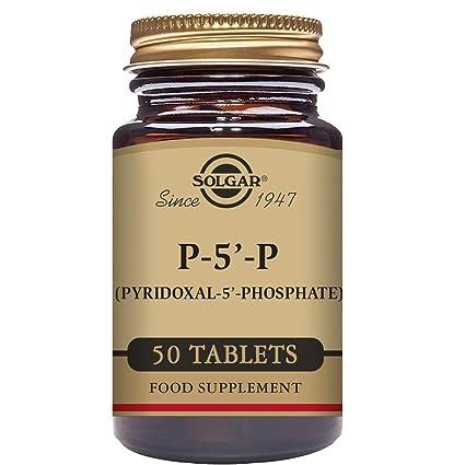 Solgar P-5-P (Piridoxal-5-fosfato) Comprimidos
