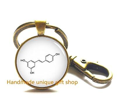 Amazon Fashion Key Keychainchemical Symbol Jewelry Chemical