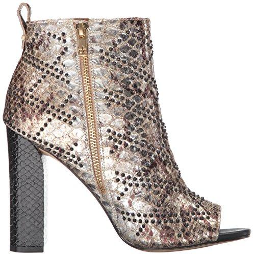 Calvin Klein Women's Jules Ankle Bootie, Gold, 6.5 M US