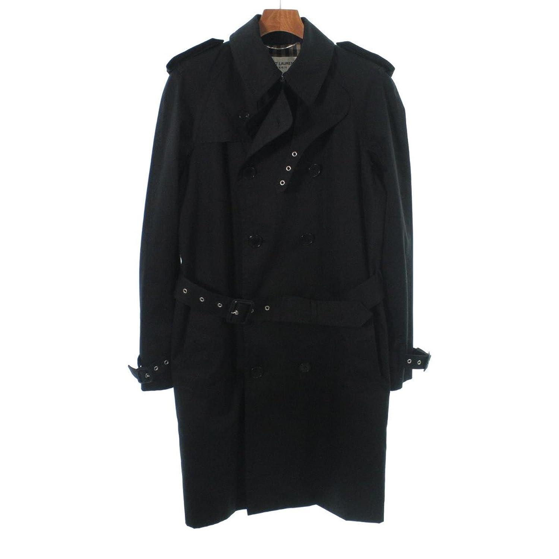 (サンローランパリ) SAINT LAURENT PARIS メンズ コート 中古 B07F6HJDFF