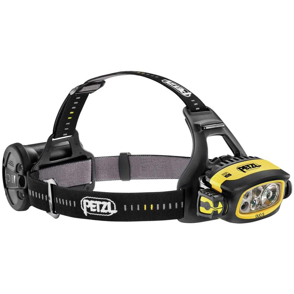 Petzl - DUO S 1100 Lumens, Durable, Waterproof, Rechargeable, with Face2Face Technology