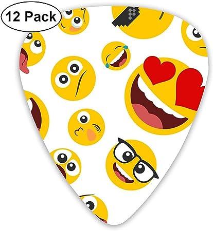 Elecciones de guitarra Varios emoticones de Emoji Plectrums ...