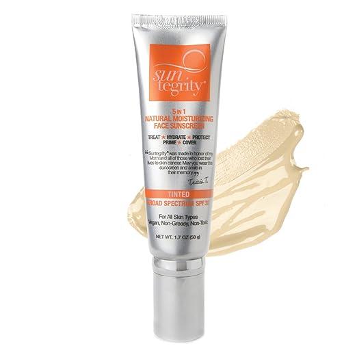 5 IN 1 Natural Moisturizing Face Sunscreen SPF 30 - Fair
