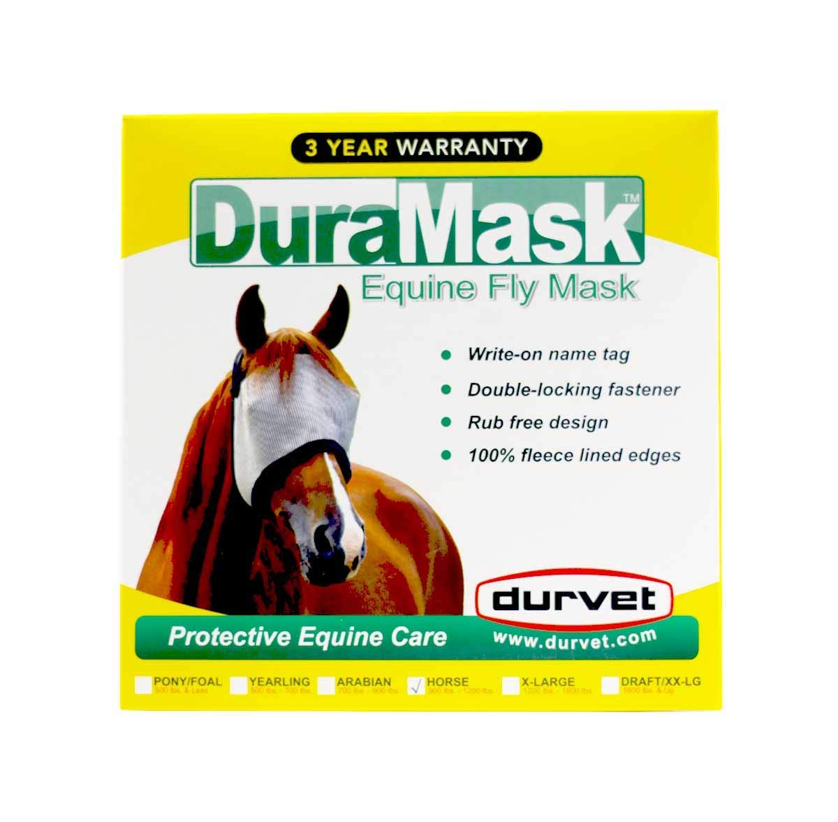 Durvet Fly D Duramask Fly Mask by Durvet Fly D
