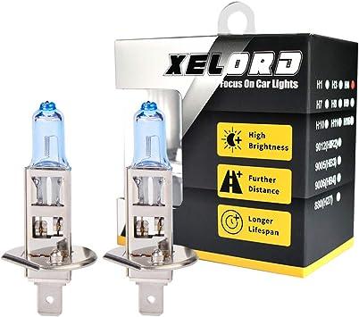Auto Lampe H1 Birne Halogen Scheinwerferlampe Abblendlicht Glühbirne 12v 55watt 2 Stück Auto
