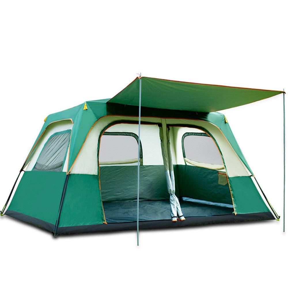 Amio Outdoor Automatisches Zelt Camping Automatisches Zelt Outdoor 6 Personen 8 Personen Zwei Zimmer Eine Halle Mehrpersonen-Regensicheres großes Zelt