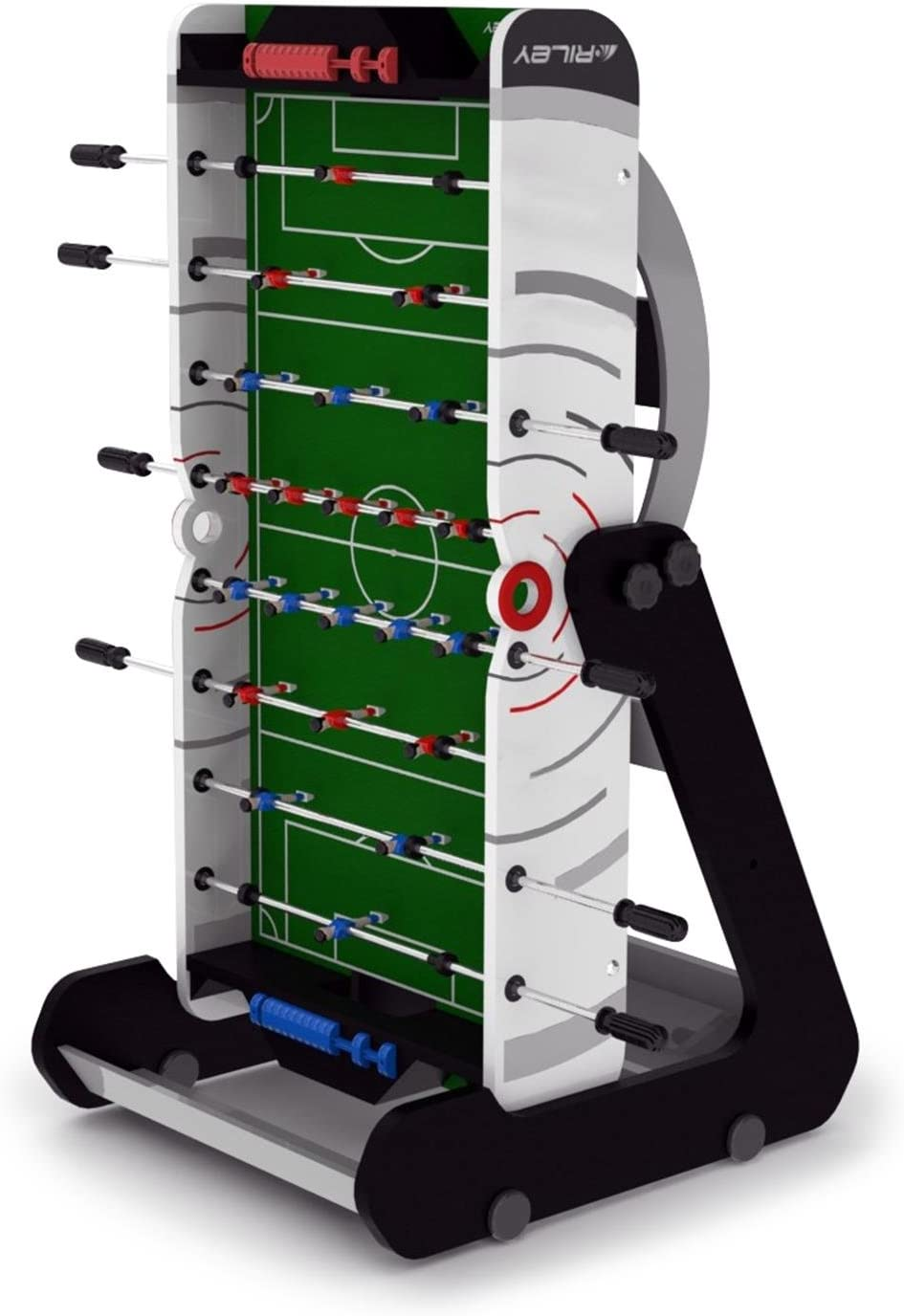 Riley VR-90 4 de los Hombres Plegable Mesa de fútbol, Blanco, 4 ft ...