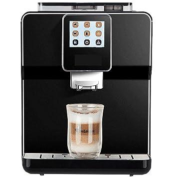 Máquina de café automática Presión de bomba inteligente 1250 vatios Capacidad del tanque de agua de 1.7 litros Negro/blanco: Amazon.es: Hogar