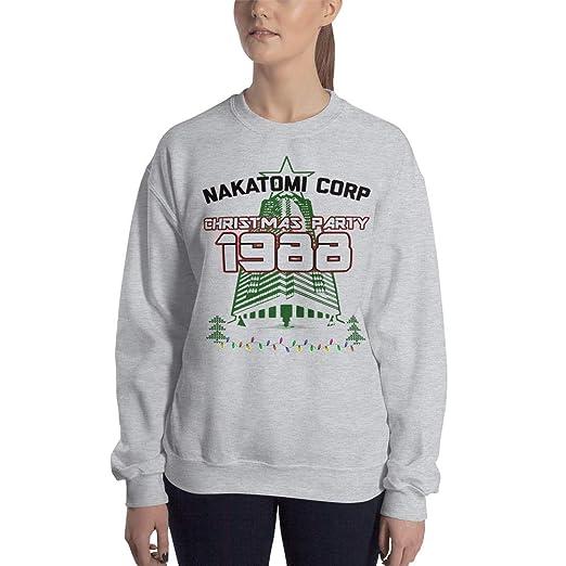 Nakatomi Corp Christmas Party 1988 Die Hard Sweatshirt Ugly