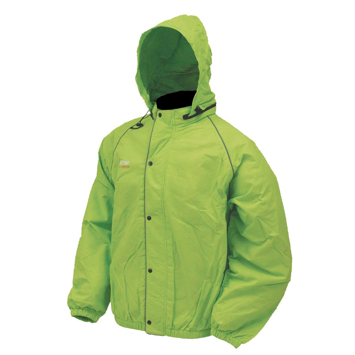 Large Lime Green Frogg Toggs FT63132-48LG Road Toad Jacket Waterproof