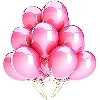 Vercrown 100 Paquet Twisty La modélisation des Ballons Longue Magie Arc en Ciel Coloré Animal Ballon Mariage Fête d'anniversaire Décoration des Balles avec Pompe