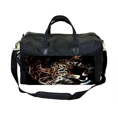 Fractal Leopard Weekender/Overnighter Bag