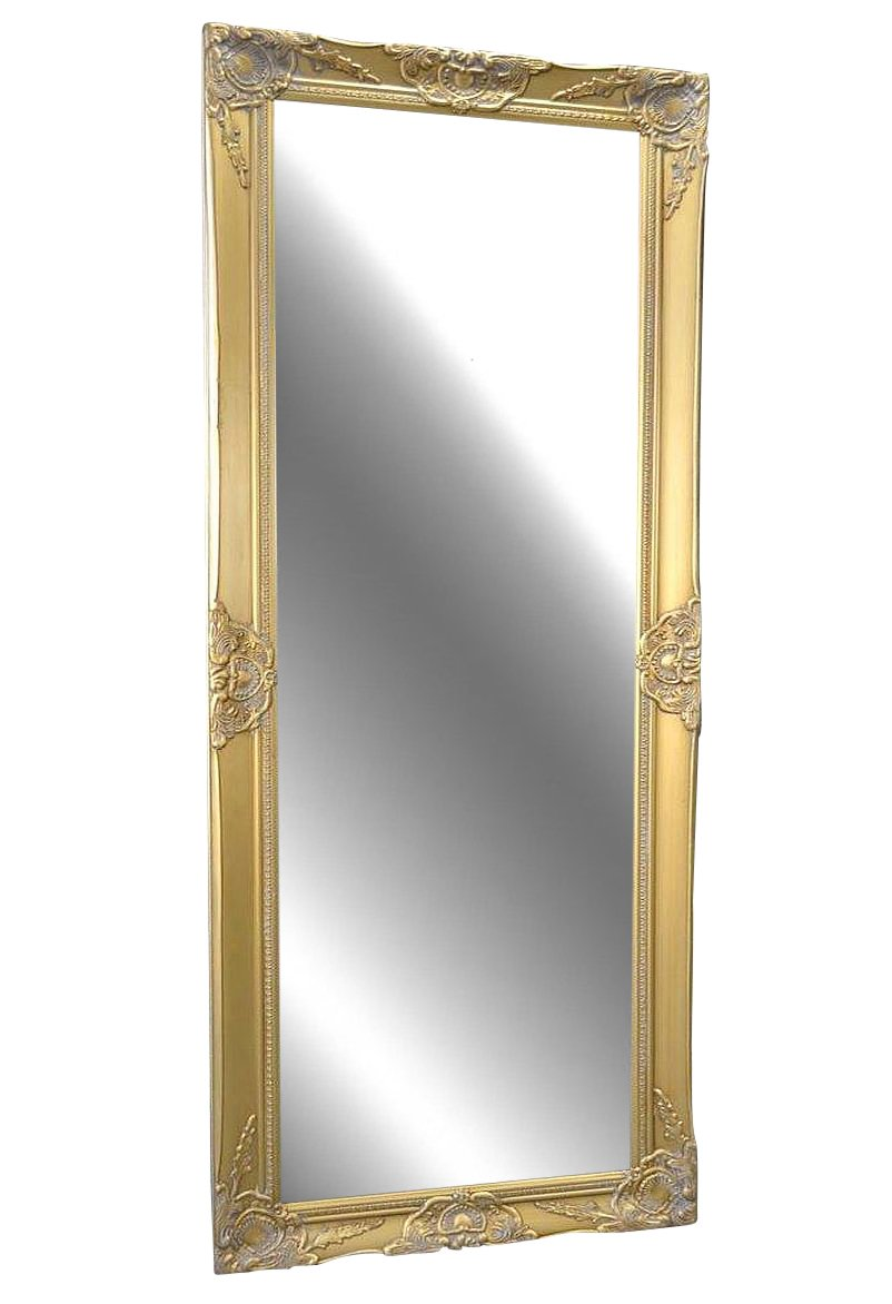 Livitat LV10078-S Wand-/ Badspiegel barock, 150 x 60 cm ...