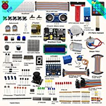 Adeept New Ultimate Starter Learning Kit for Raspberry Pi 3 2 Model B/B+Python ADXL345 GPIO Cable DC Motor