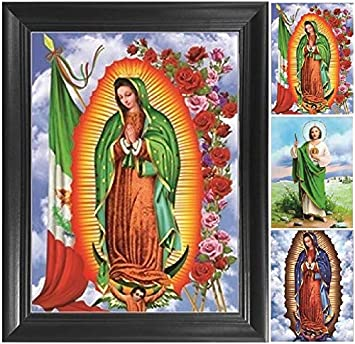 Amazoncom Our Lady Of Guadalupe Virgin Mary 3d Poster Print Wall