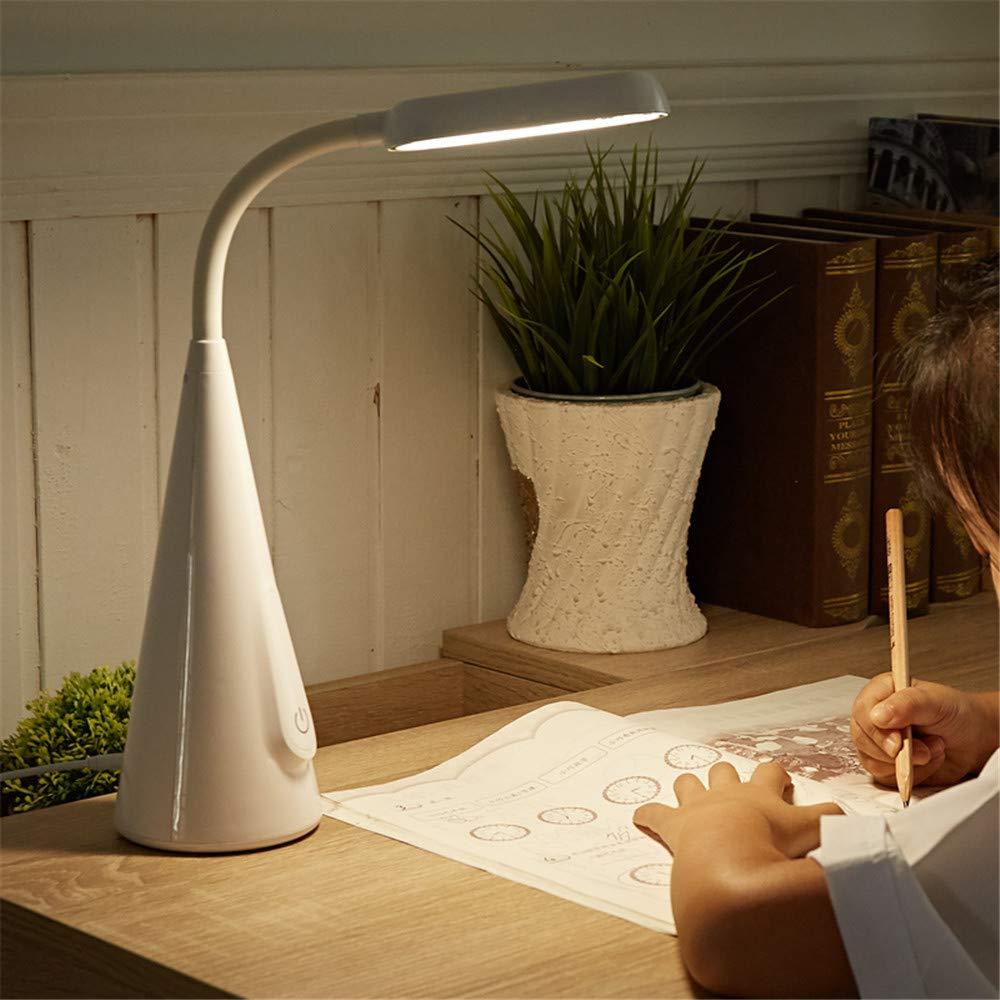 zlltd Lámparas de escritorio Led recargable lámpara de escritorio escritorio los de protección para los escritorio ojos dormitorio de la universidad dormitorio niños pequeños estudio pequeño lámpara de lectura lámp 478ad2