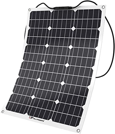 Durable 18V 20W Flexible Fast Charging Kit Charger Controller Poly Solar Panel