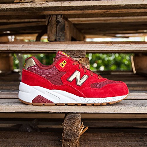 New Balance 580 Lost Worlds Women's Running Shoes WRT580LB Red Gold NIB (8)