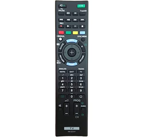 RM-ED047 Reemplazo de Control Remoto para Sony Bravia TV: Amazon.es: Electrónica