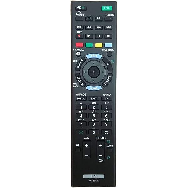 MYHGRC MT-L1052 - Mando a distancia para Sony Bravia TV, no requiere configuración, mando a distancia universal Sony: Amazon.es: Electrónica